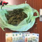 Droga: trovato in possesso di marijuana arrestato