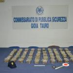 Sfrecciano sull'A2 con 50 kg hashish in auto, arrestati