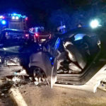 Incidenti stradali, scontro tra auto sulla SS 18 nel Lametino, 5 feriti