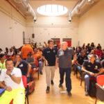 """Campagna """"Io non rischio"""": Oliverio a Lamezia Terme con i volontari"""