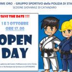 Fiamme oro Polizia Stato, Sezione giovanile Catanzaro Open day