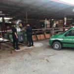 Ambiente: segheria abusiva sequestrata a Montalto Uffugo