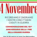 Morano: Il Comune celebra il 4 novembre, Giorno dell'Unità Nazionale