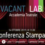 Lamezia: Vacantiandu presenta il nuovo progetto di Accademia Teatrale
