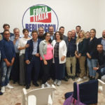 Lamezia primo incontro di Ruggero Pegna con i canditati di Forza Italia
