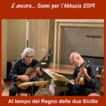 Concerti: E ancora....suoni per l'Abbazia 2019