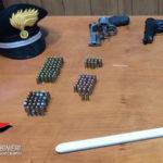 Armi: pistole in casa, un arresto a Sant'Eufemia d'Aspromonte