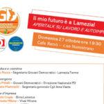 """""""Il mio futuro è a Lamezia"""": iniziativa dei Giovani Democratici"""
