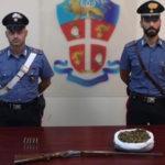 Droga: ventiduenne arrestato per spaccio nel Reggino