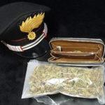 """Droga: 23enne arrestato dai Carabinieri per spaccio di """"marijuana"""""""