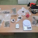 Droga: trovato mezzo chilo di marijuana 37enne arrestato a Tropea