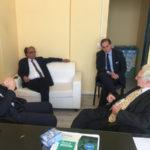 Lamezia ex zuccherificio Eugenio Guarascio incontra Raffaele Mirigliani