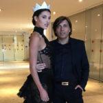 Moda: Anton Giulio veste Miss Italia 2019 Carolina Stramare