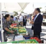 Comunali: Lamezia, candidato Guarascio al mercato di via Colombo
