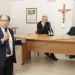 Comunali: Lamezia, Eugenio Guarascio alla casa del sacerdote