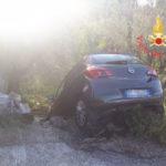 Incidenti stradali: auto trancia tubi gas, 1 ferito a Catanzaro