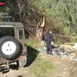Rifiuti: smaltimento illecito,due denunce dei forestali a Cosenza