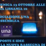 Lamezia: primo appuntamento con l'associazione Una il 13 ottobre