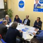 Delegazione agricoltori incontra il candidato a sindaco, Guarascio