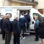 """Lamezia, vaccinazioni antinfluenzali con il """"Camper della Salute"""" del Rotary"""