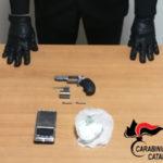 Catanzaro: controlli Carabinieri trovato con revolver arrestato