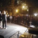 Lamezia:comizio di Massimo Cristiano in piazza Fiorentino a Sambiase