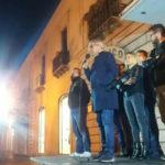Lamezia: Ruggero Pegna incontra i cittadini in un comizio