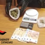 Droga: due giovani arrestati a Catanzaro dai Carabinieri