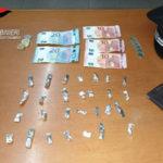 A bordo autovettura con cocaina, arrestato dai carabinieri