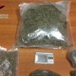 Droga: 750 grammi marijuana in casa arrestato giovane reggino