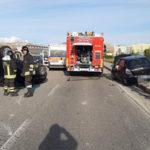 Incidenti: scontro tra due auto a Catanzaro, due feriti
