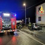 Incidenti stradali: scontro fra auto, un ferito a Catanzaro