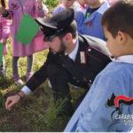 Festa Albero: Forestali incontrano alunni istituto comprensivo Joppolo