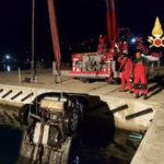 Villa San Giovanni: auto precipita nel porto, salvo conducente