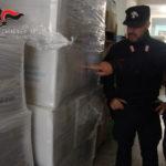 Controlli ambientali: sequestrati 1300 chili di buste di plastica