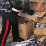 Fuochi pirotecnici:Reggio Calabria,Sequestrata una t di materiale