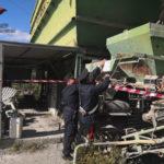 Incendio in impianto trattamento rifiuti nel Catanzarese