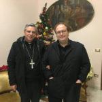 Lamezia, incontro tra il regista Carlo Carlei e il vescovo Schillaci