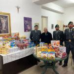 Natale: raccolta fondi baschi verdi Gdf a Reggio per i bisognosi