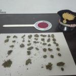 Droga: 24enne arrestato dai carabinieri a Reggio Calabria