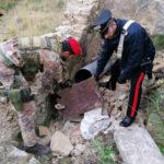 Fucili e munizioni ritrovati dai Carabinieri a Reggio Calabria