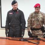 Locri: deteneva armi clandestine, arrestato dai carabinieri