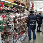 Natale: Gdf Cosenza sequestra 300.000 prodotti pericolosi