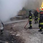Incendi: a fuoco nel comune di Cicala due autovetture