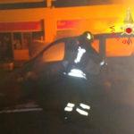 Incendi: a fuoco in area di servizio Lamezia Terme Est due auto