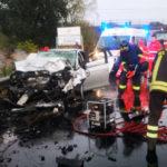 Incidenti stradali: scontro frontale nel Crotonese, 5 feriti