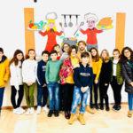 Girifalco: murales nei locali mensa scuola secondaria primo grado