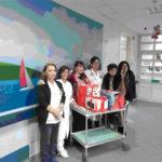 Doni e sorrisi nel reparto di oncologia pediatrica del Pugliese