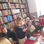 Girifalco: studenti scuola primaria in vista alla biblioteca comunale