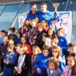 Primo posto della Arvalia Nuoto Lamezia al Trofeo Propaganda